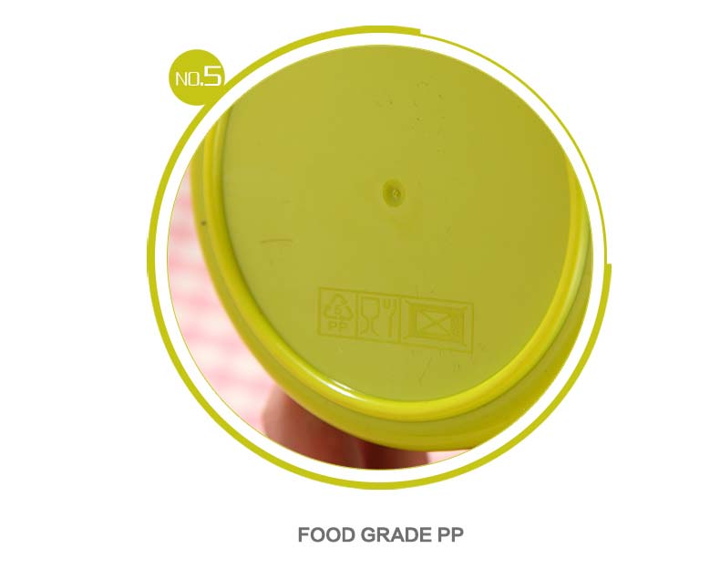 Food grade plastic - our fivth feature!
