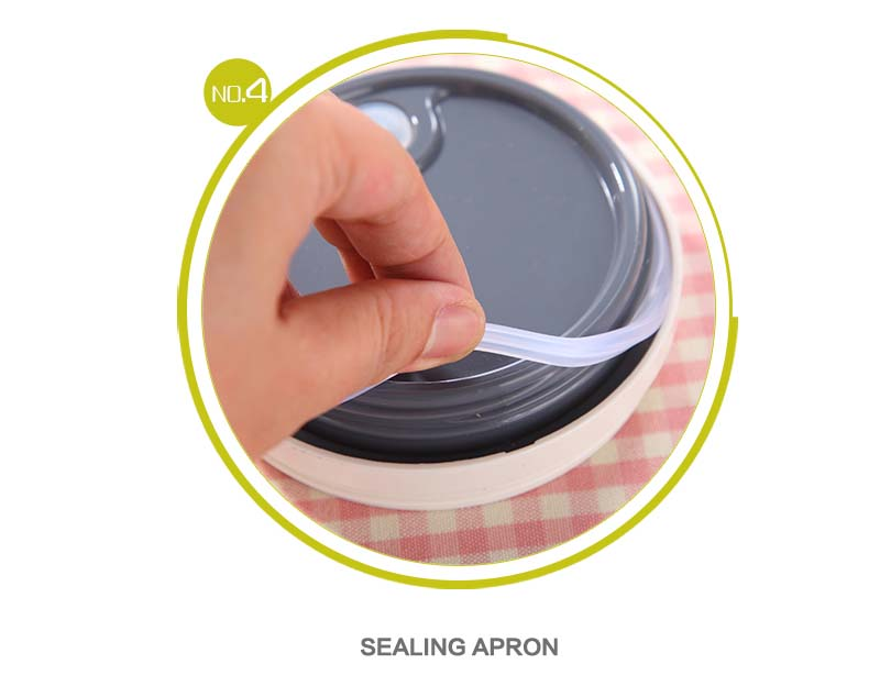 Fourth feature of Food Box - Sealing Apron