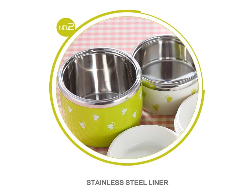 Second Feature - Food compatible stainless steel
