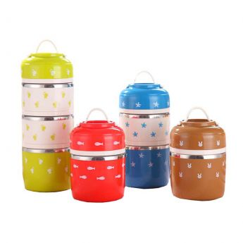 Japanese Lunch Box for Kids Tower Insulated