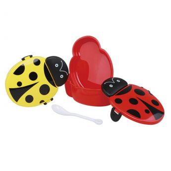 Lady Bug Food Container