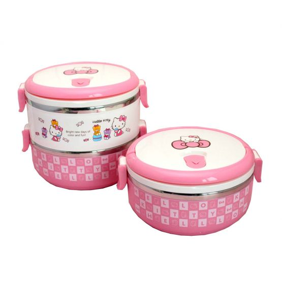 Hello Kitty Pink Dinner Box