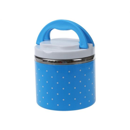 Food Container Blue Color with Handle