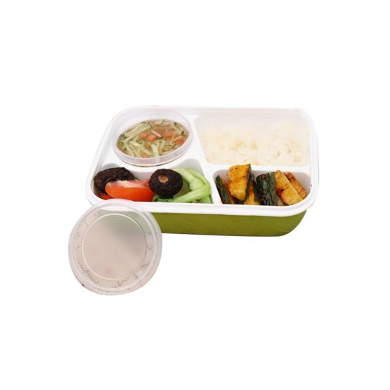 Green Bento Food Container