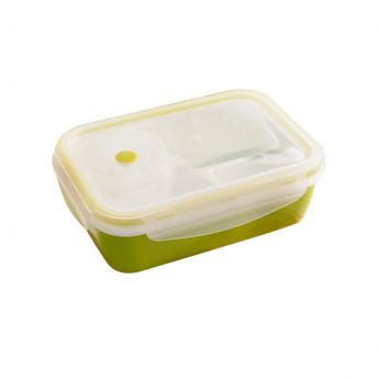 Insu;ated Bento Lunch Box Gree Colour
