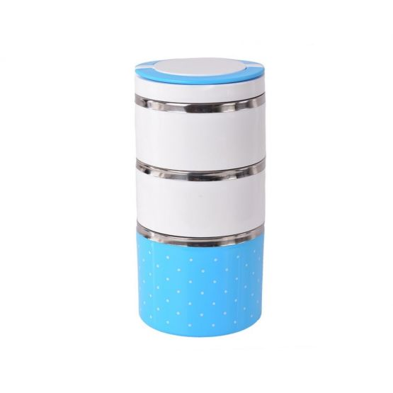 Insulated 3 Level Indian Food Container