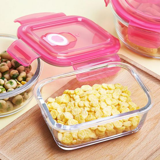 Lunch Box with Sereals