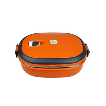 Orange Insulated Food Container