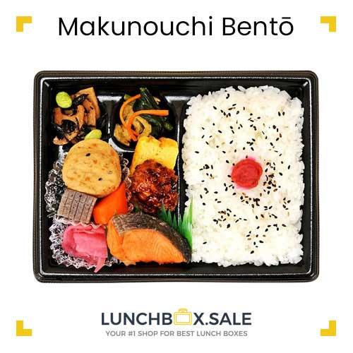Makunouchi Bento with Umeboshi