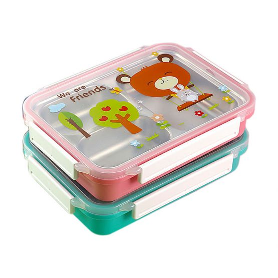 BentoBox for Baby and Toddlers with Bear