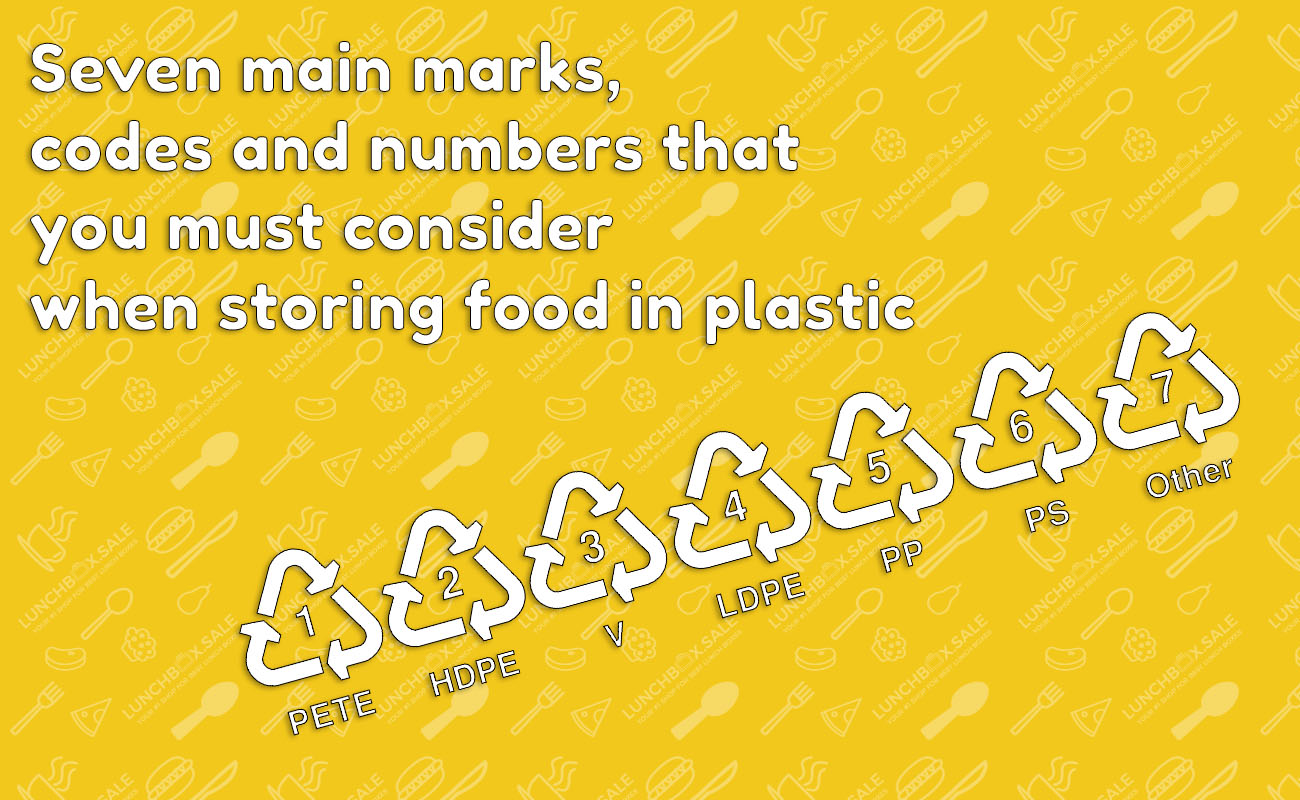 Codes of Food Plastic