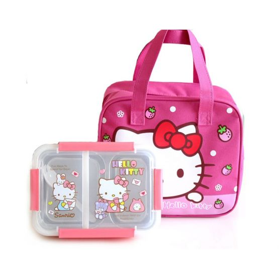 Bag-Included Hello Kitty Container