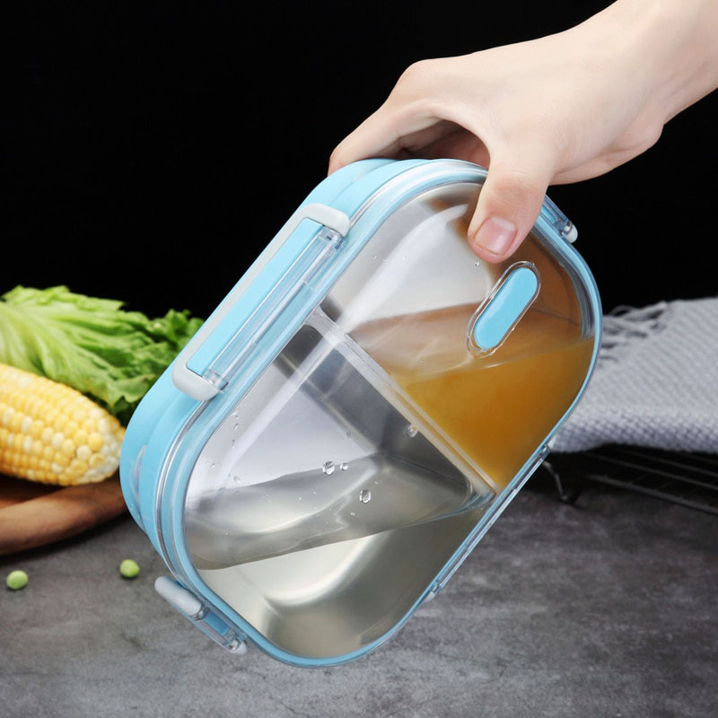 Lunch Box with Leak-Proof properties