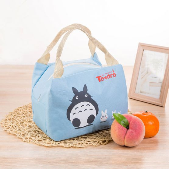 Thermal Bag with Totoro Print