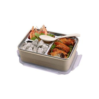 Food Packed Wheat Straw LunchBox