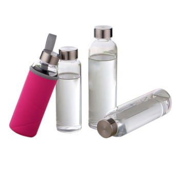 Travel Glass Water Bottles