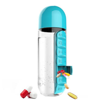 Drink Bottle Pill Case