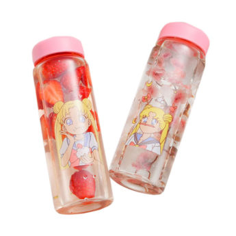 Water Bottle with Sailor Moon